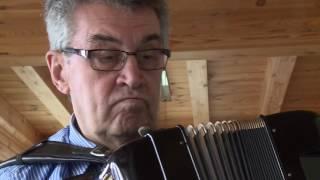 Charlotte Ludwig probt mit dem Akkordeonisten Werner Weibert