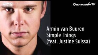 Armin van Buuren - Simple Things feat. Justine Suissa