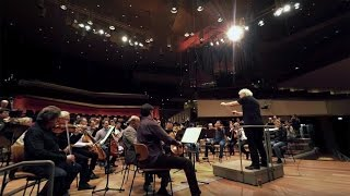 360-degree video – Beethoven: Symphony No. 9 / Rattle · Berliner Philharmoniker (rehearsal)