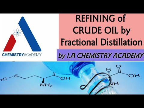 Refining of Crude Oil by Fractional Distillation |Petroleum