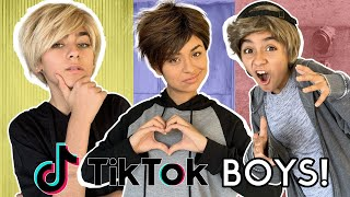 Types of TikTok Boys In Real Life : Cute, Funny, Viral Trends | GEM Sisters