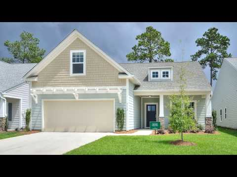 The Bayside Floorplan - Model Home at Parkway Crossing at Brunswick Forest