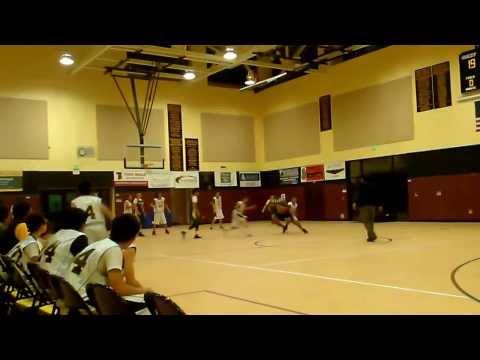 Buena Vista Middle School  vs San Benancio scrimmage Jan 2014