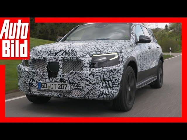 Concept Mercedes-Benz EQC (2019) Erste Fahrt/Details/Erlkärung