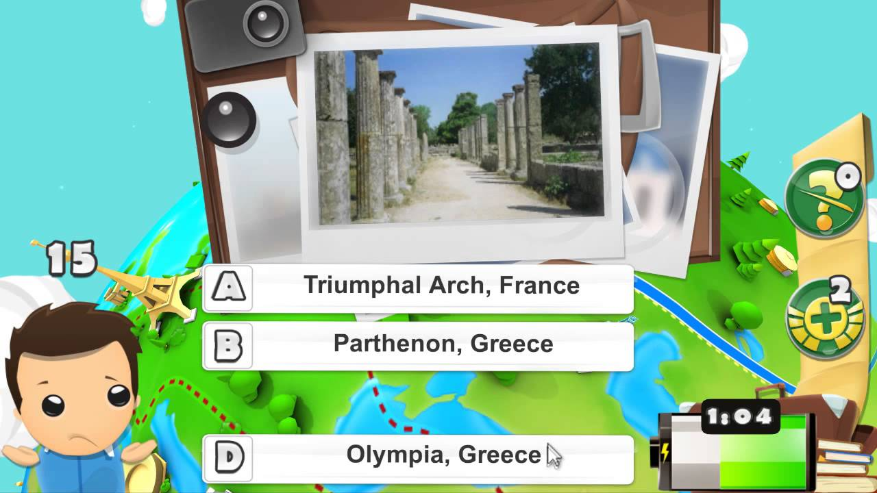 Geography Quiz Game D YouTube - Geography quiz game