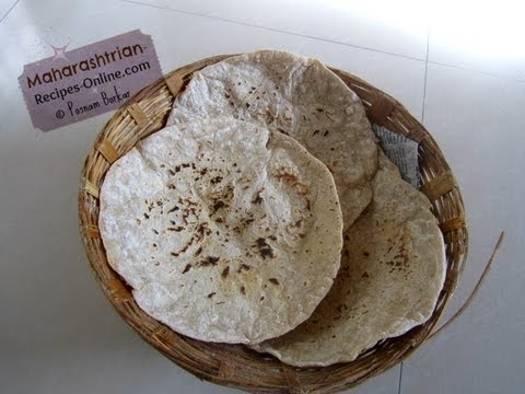 How to make Jwarichi Bhakri (Jowar ki Roti  / Sorghum Flour Flatbread)