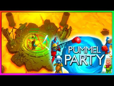 This Is What Mario Party Could Have Been | Pummel Party Gameplay With The Crew