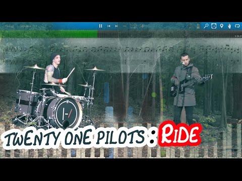 twenty one pilots: Ride [Piano Tutorial | Sheets | MIDI] Synthesia