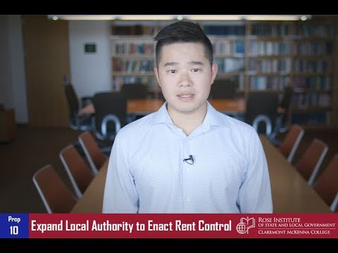 California Proposition 10: Expand Local Authority to Enact Rent Control