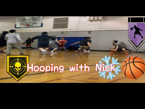 Hooping With Nick 🥶❄️🏀🤫