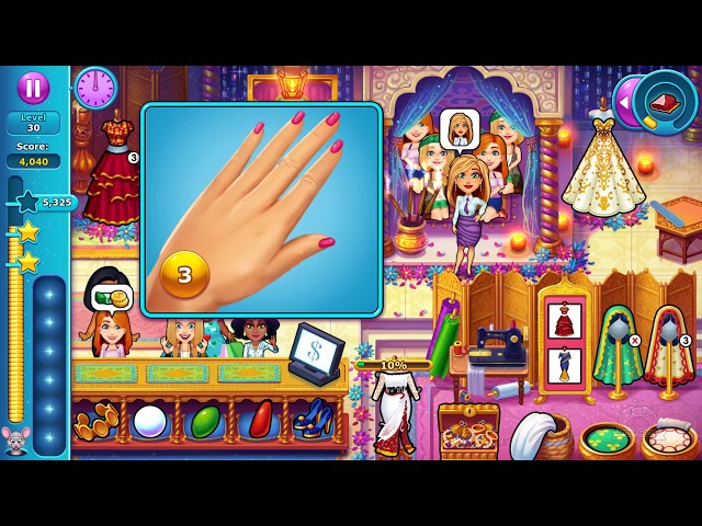 Fabulous - Angela's Wedding Disaster #42 Level 30 Rush Hour 🎮 James Games