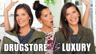 Download LUXURY vs. DRUGSTORE DUPES on my TWIN SISTERS Mp3 and Videos