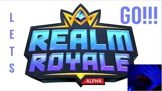 LIVE NOW (English):  RobertGatesC Realm Royale Stream - Talk and Game