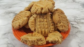 Peanut Butter Cookies (Quick Version - Recipe Only)  The Hillbilly Kitchen