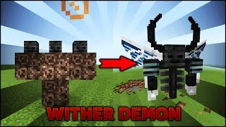 TRIỆU HỒI WITHER DEMON BOSS TRONG MINECRAFT PE 1.1 - MK GAMING
