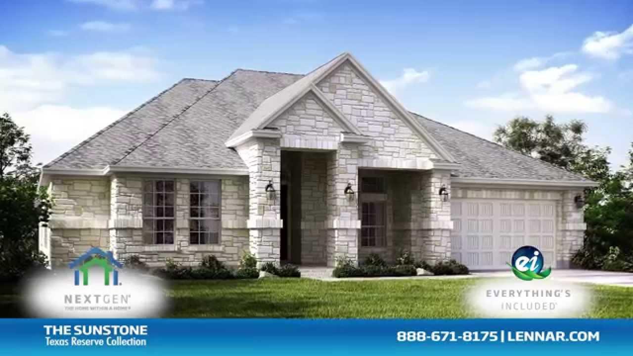 Sunstone Next Gen Home Tour Lennar Houston Youtube