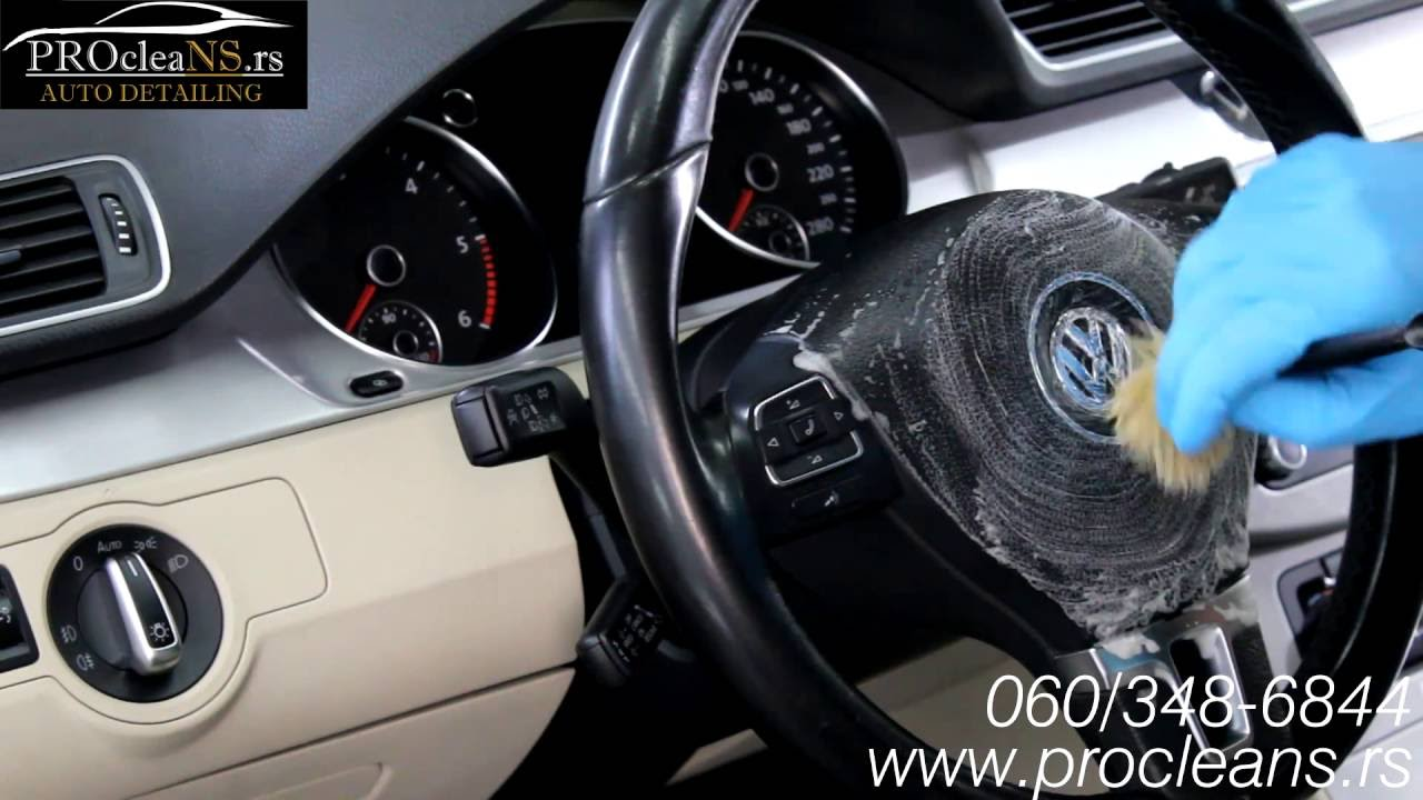 car detailing interior passat cc detaljno ciscenje kokpita automobila youtube