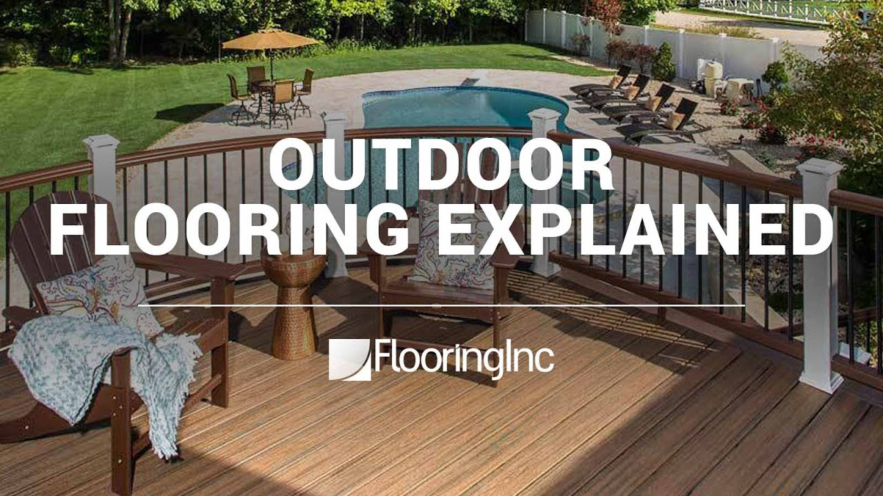 outdoor flooring explained youtube