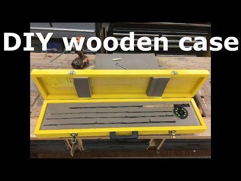 DIY Custom Wood Case For Fly Rod