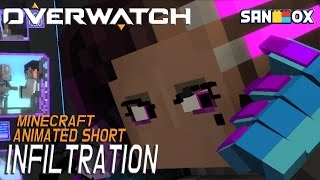 "Overwatch Animated Short | ""Infiltration"" Made with Minecraft - [Hoodie]"