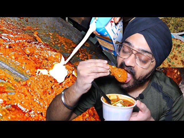 Mahindra Park wale Sardarjee ka Tawa Chicken 🍗🍗🍗 & Pahari Tikka