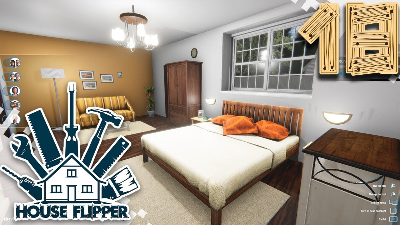 House Flipper Ep18 Master Bedroom And Master Bathroom Youtube