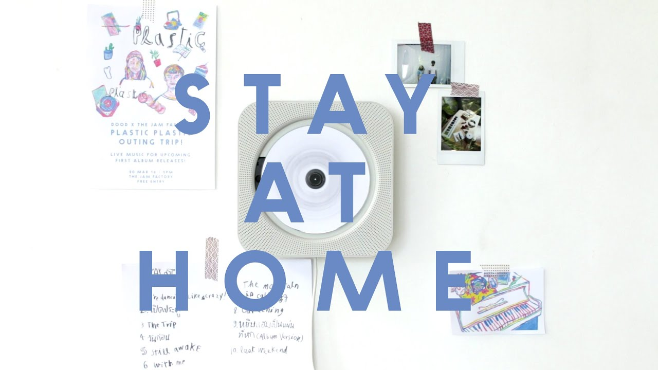 plastic plastic stay at home album sampler youtube. Black Bedroom Furniture Sets. Home Design Ideas