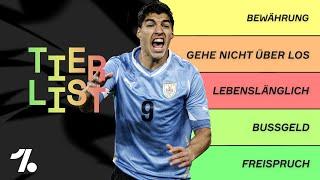 Suarez, Maradona, Adebayor - Die dreckigsten Aktionen auf dem Feld! OneFootball Tierlist