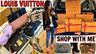 COME TO LOUIS VUITTON WITH ME | SHOPPING