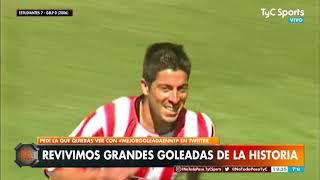 Históricas goleadas del fútbol argentino
