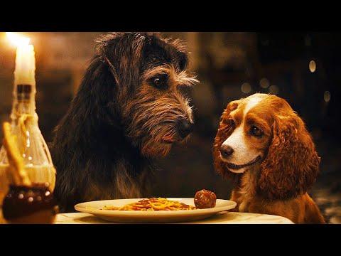LADY AND THE TRAMP (2019) Spaghetti Scene Clip