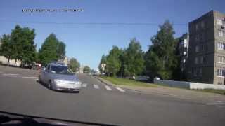 авария на ул. Пушкина 05.06.13