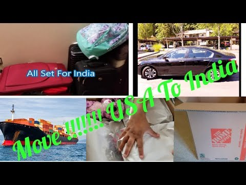 How To Ship Your Household Stuff From USA To India || Packaging Tips, Tricks & Suggestions