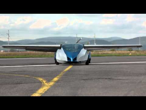 Aeromobil - flying car prototype