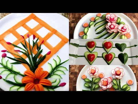 Super Great human creativity in life and work - Super Salad Decoration Ideas