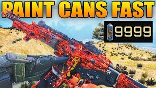 Black Ops 4: Fastest Way to Get Paint Cans in Blackout (Dark Matter Fast)