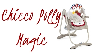 Chicco Polly Magic 3 в 1 Детский Стульчик Для Кормления ОБЗОР Chicco Polly Magic 3 in 1