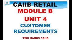 CAIIB RETAIL BANKING MODULE B UNIT 4 | CAIIB | RETAIL BANKING CAIIB | RETAIL CAIIB