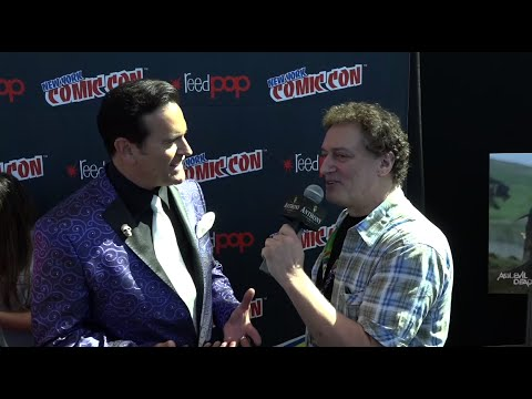 Bruce Campbell and Anthony Cumia at New York Comic Con (Ash vs. Evil Dead)