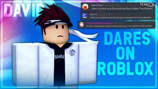 dares on roblox? - 3