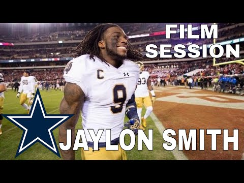 Quick Film Session on Dallas Cowboys Jaylon Smith