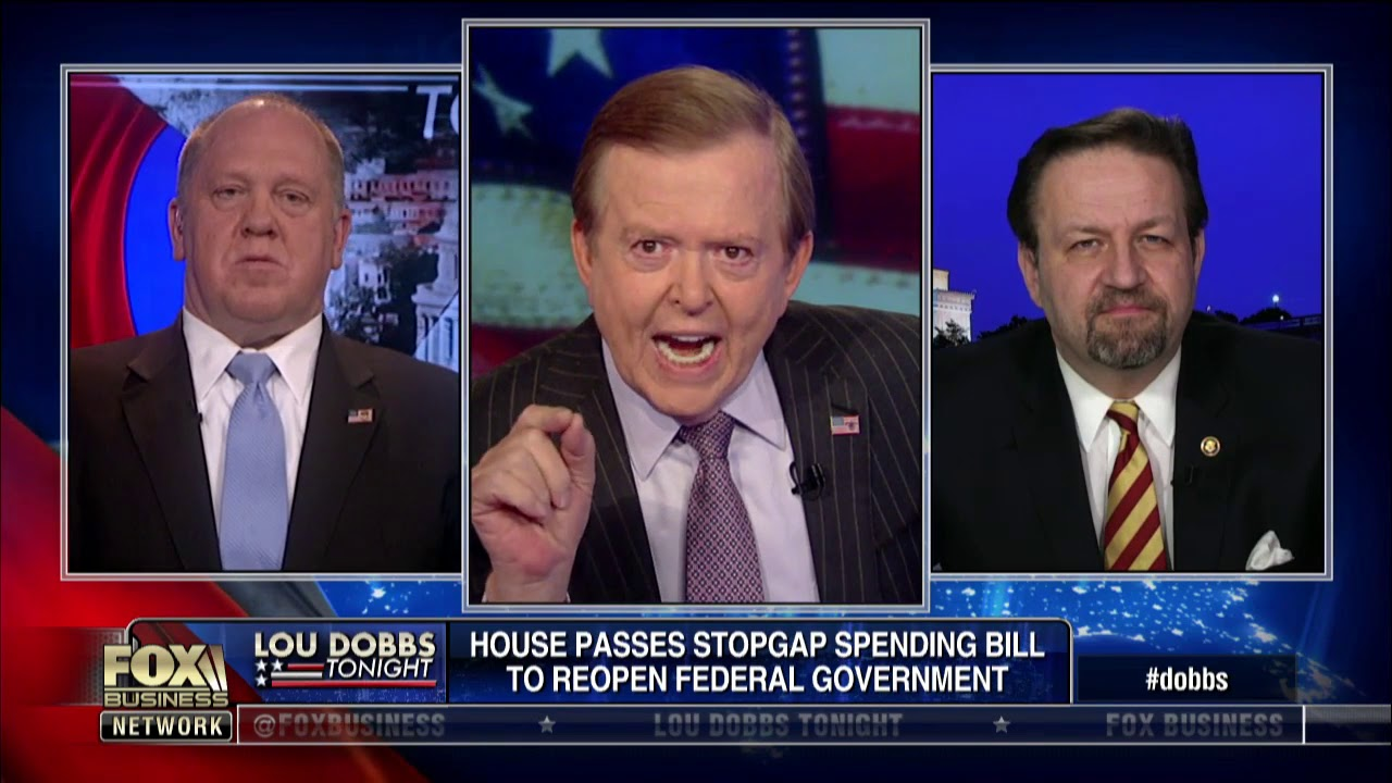 Did Trump lose to Pelosi after reopening government without border wall funding?