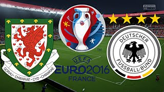 WALES vs. DEUTSCHLAND | FINALE | EURO 2016 FRANKREICH ◄EM #33►