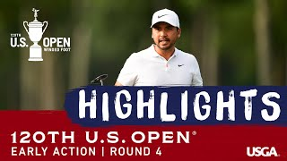 2020 U.S. Open Highlights, Round 4: Early Action