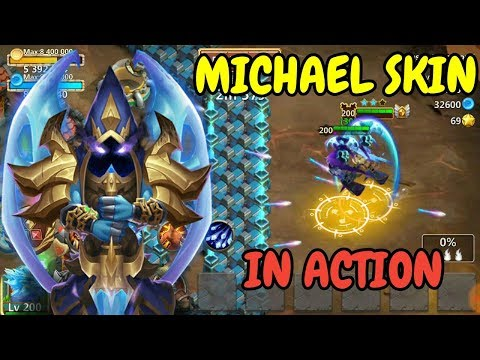 Michael Skin In Action L Castle Clash