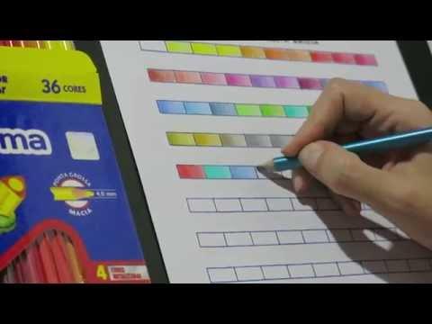 Livros de Colorir - Review lápis Norma