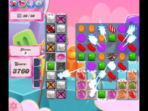 Candy Crush Saga Level 2454 - NO BOOSTERS