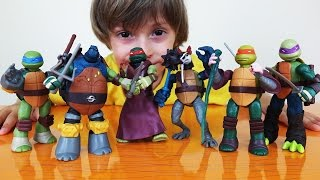 черепашки Ниндзя все наборы Mutation - Обзор игрушки с Арсением (Часть 2)