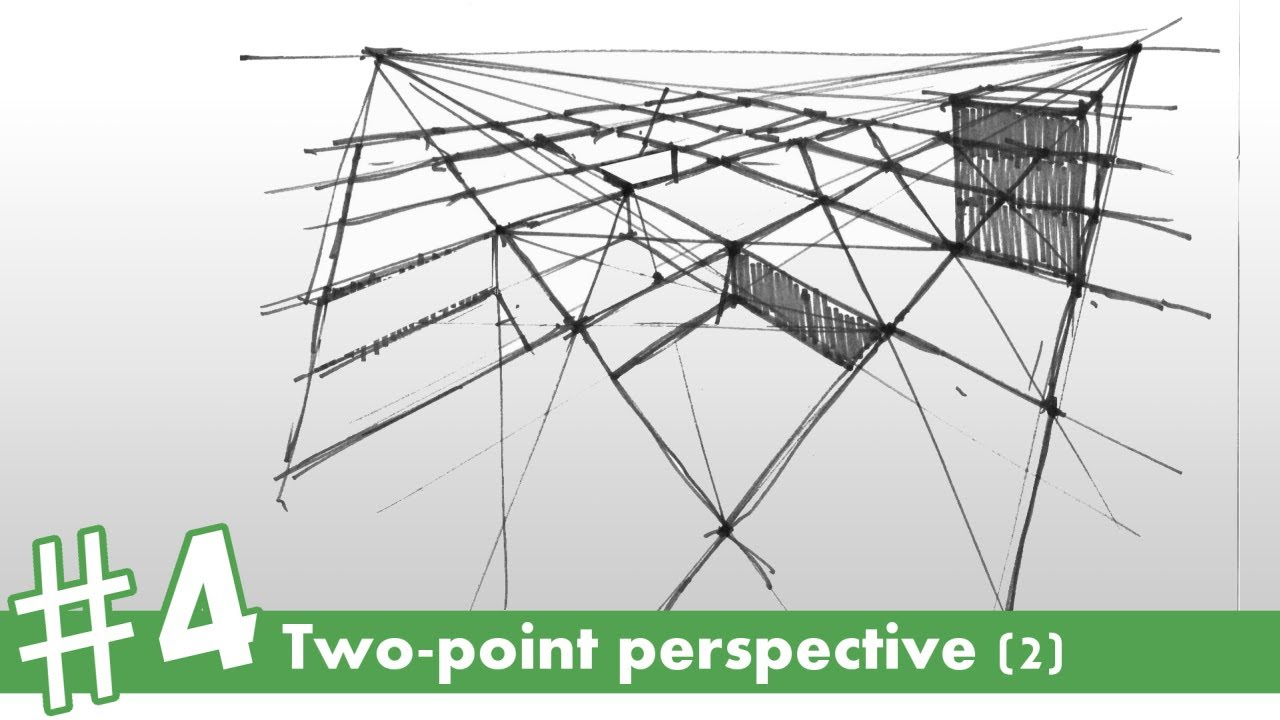 How To Draw In Twopoint Perspective (2) #4  How To Draw