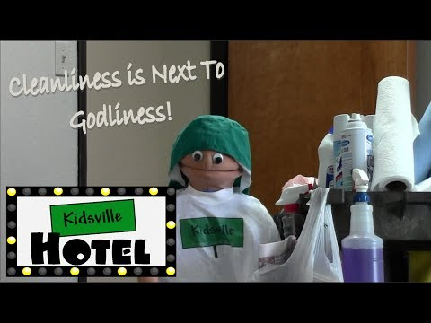 Kidsville Hotel: Clean Up is Fun